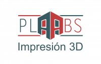 Logotipo Plabs 3D